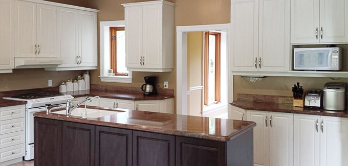Cabinet doors made in Canada. 100% Canadian owned & operated.